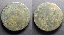 2 Sol aux balances, An II 1793 atelier à déterminer (petit état)