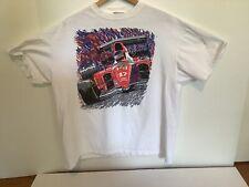 Vintage 1993 Alain Prost Formula 1 Champion Tee Shirt WILLIAMS