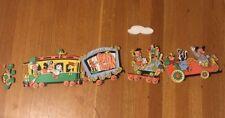 Vintage Disney Characters Train Wall Hanging Decor Nursery Dumbo Mickey Minnie