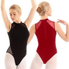 NWOT LONG SLEEVE LEOTARD Dance Praise Microfiber lined front Ladies 86205