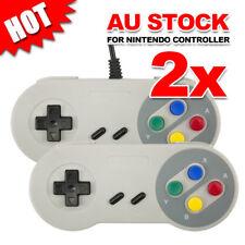 2x JoyPad For Super Nintendo SNES Controller USB GamePad NES Windows PC Emulator