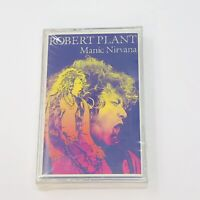 Robert Plant Manic Nirvana Cassette Tape New And Sealed