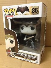 FUNKO POP! Wonder Woman Black & White SEPIA TONE #86 Exclusive Vinyl Figure