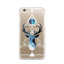 Harry Potter Hogwarts Deer Clear phone case cover for iphone 5/6/7 Plus