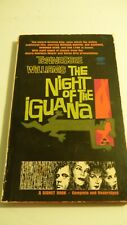 Tennessee Williams THE NIGHT of the IGUANA 1964 Signet Vintage Paperback