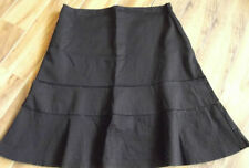 Jacqui E Polyester A-Line Machine Washable Skirts for Women
