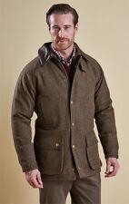 Barbour Mens Tweed Gamefair Jacket - Olive X Large