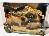 Jumanji WILD KINGDOM COLLECTION 4 Figures Lion Cheetah Warthog Eagle Walmart