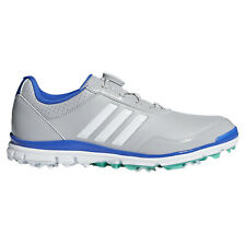 adidas Ladies Adistar Lite BOA Fit Golf Shoes Grey Spiked Lightweight Climastorm