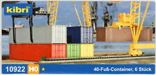 40 FOOT CONTAINERS - HO KITSET by KIBRI