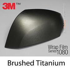 20x30cm FILM Brushed Titanium 3M 1080 BR230 Vinyle COVERING Series Wrap FILM