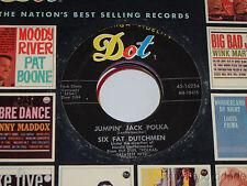 """SIX FAT DUTCHMEN Swiss Waltz / Jumpin Jack Polka 7"""" DOT 45-16254 VG+"""