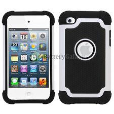 Hybrid Defender Slim Armor Hard Case Cover Shell For Apple iPod Touch 4 4th Gen