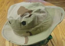 Us Military Hat Sun Hot Weather Desert Camo Size 6 3/4 In Very Good Condition