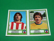 PANINI EURO FOOTBALL 78 N°163 BOGICEVIC POPIVODA  JUGOSLAVIJA 1977-1978