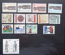 Faroe Islands 1978 Guides 1979 IYC 1980 Church Pews 1981 Writings 1983 Chess MNH