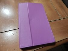 Used Magnetic Pink Leather Smart Case Cover For Amazon Kindle Fire