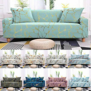 1/2/3/4/ Seater Elastic Slipcover Printed Strench Sofa Cover Chair Couch Cover