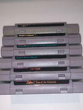 Super Nintendo SNES Games Complete Fun You Pick & Choose Video Game
