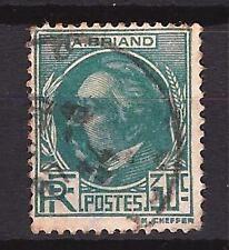 France 1933 Aristide Briand Yvert n° 291 oblitéré 1er choix (1)