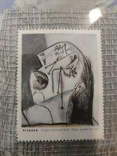 Picasso Stamp Elise Goodman Greeting Card