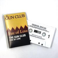 THE GUN CLUB Fire Of Love Cassette Tape 1983 Slash Records Release Rare