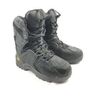 Klim Arctic GTX Goretex Mens 11 Thinsulate Ultra Black Snowmobile Boots