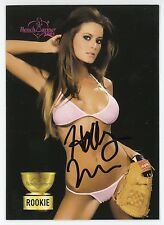 HOLLY WEBER 2005 Benchwarmer Rookie RC Authentic Hand-Signed (Card #78)