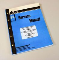 INTERNATIONAL 3142 & 3142A SERIES A BACKHOE SERVICE REPAIR SHOP MANUAL TECHNICAL