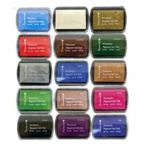 Dovecraft Premium Pigment Ink Pad - Cardmaking Stamping - 15 Colours to choose