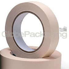 2 Rolls Of Masking Tape 25mm x 50M Painting Tape