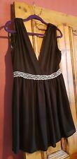 Ladies black and white dress size 14 BNWOT
