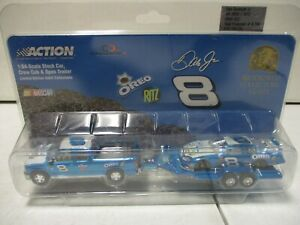 Action 2004 Dale Earnhardt Jr Oreo Ritz Crew Cab, Car and Trailer 1/64