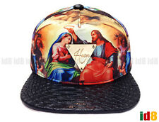 Hater Snapback Jesus Genesis Muriel with Snakeskin Brim & Strapback God Hat Cap