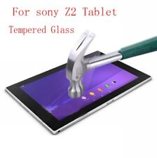 2PCSx 0.33mm Tempered Glass Screen Protector For Sony Xperia Z2 Tablet 10.1 Inch