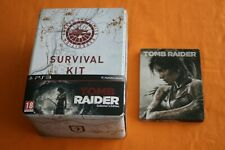 Tomb Raider Survival Kit Collector's Edition + Steelcase Box Figur Playstation 3