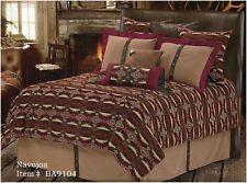 Western Navojoa 5 Pc Super King Comforter Bedding Set -Southwest Print Ranch