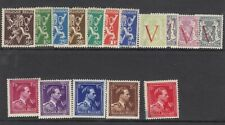 Belgium 1956 Sets x3 Including Leopold to 3F25 MH J6255