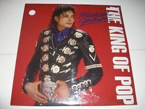 MICHAEL JACKSON RARE 3 LP COULEURS MICHAEL JACKSON THE KING OP POP NEUF/SCELLE