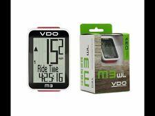 VDO ciclocomputer M3 Wireless Unisex Adulto, Nero bici mtb ciclismo computer