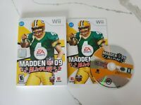 Wii EA Sports Madden NFL 09: All-Play (Nintendo Wii, 2008) No Scratches Free S/H