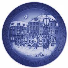 """Piatto 2018 Royal Copenhagen """"Inverno nel Bosco"""", Porcellana, Royal Copenhagen"""
