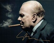 Gary OLDMAN SIGNED Autograph 10x8 Photo AFTAL COA Darkest Hour Winston Churchill