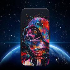 STAR WARS LUK DARTH VADER SPACE FLIP WALLET PHONE CASE FOR IPHONE SAMSUNG HUAWEI