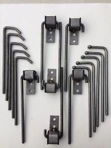 16 pc Universal Headed/bent rod/ southern weld on   Exhaust Hanger  Rod