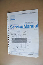 Philips Auto Cassette Deck P1 Version 0 Genuine Service Manual