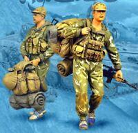 1/35 Resin 2 Soviet Soldiers Afghanistan unpainted unassembled CK090