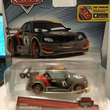 Disney Pixar Cars - Max Schnell Carbon Race Original Official Diecast Cars