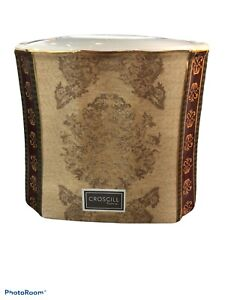 CROSCILL TOWNHOUSE BATHROOM TISSUE BOX COVER CERAMIC