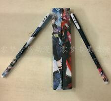 Ballpoint Pen Black Butler 2 Kuroshitsuji Ciel Phantomhive Writing Cosplay 2pcs